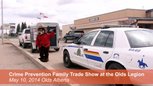 Crime Prevention Family Trade Show at the Olds Legion