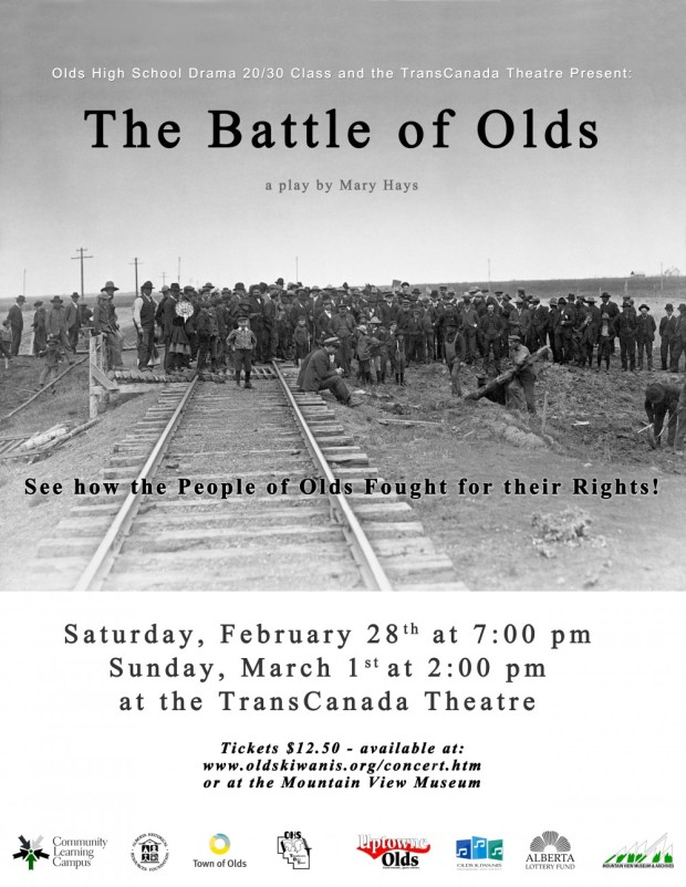 Battle of Olds Poster Feb Mar 2015