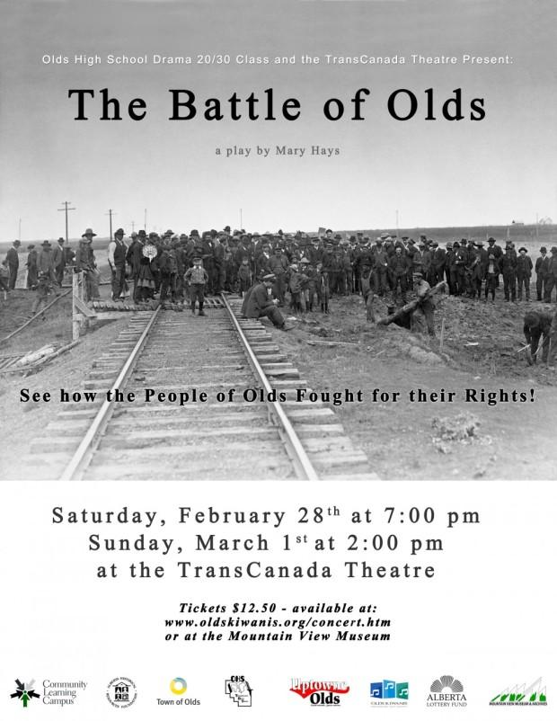 Battle of Olds Poster Feb Mar 2015