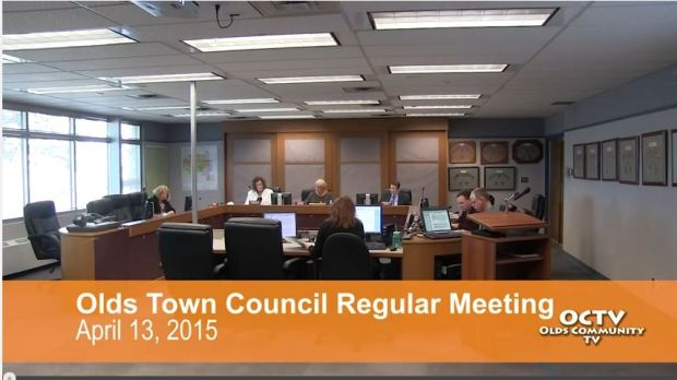 olds town council 4-13-2015