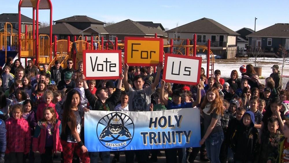 A Spring Fling Cause The Holy Trinity Catholic School Playground