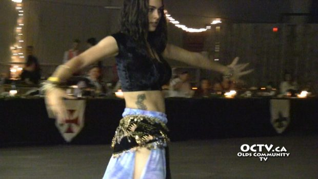 belly dancer pillage the village