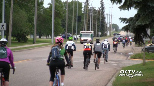 ms bike race olds ab road